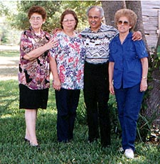Eva, Elva, Balde and Estella