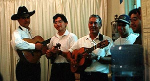 Frank Vera, Joe Ely Carrales, Ely Carrales, Jimmy Salazar and Hector Cantu